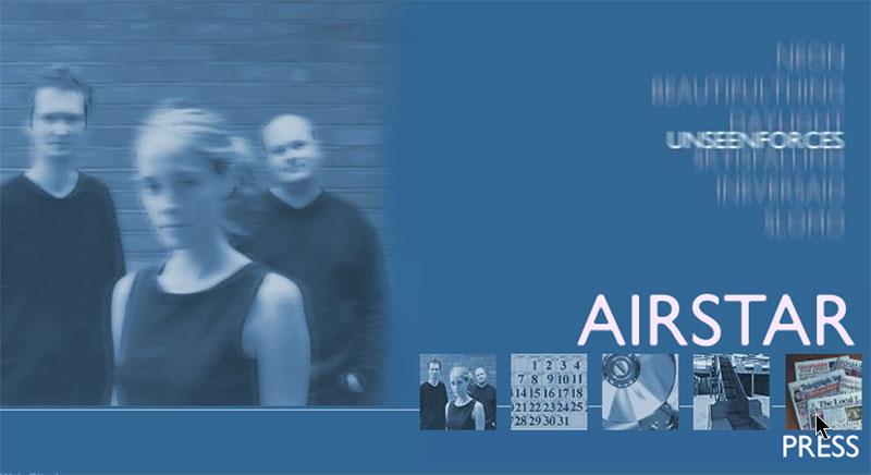Airstar band site