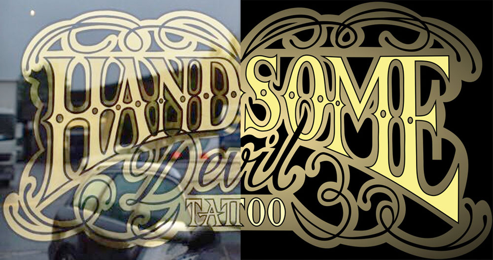 Tattoo studio graphic