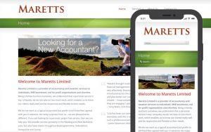 Maretts website